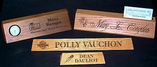 Charmant Desk Name Plate